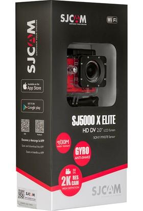 SJCAM SJ5000X Elite Wi-Fi 4K Aksiyon Kamerası-Siyah