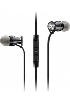 Sennheiser Momentum In Ear IOS Uyumlu Siyah-Krom Kulakiçi Kulaklık
