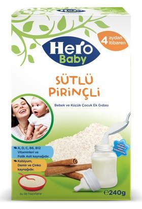 Hero Baby Sütlü Pirinçli Kaşık Maması 240 gr
