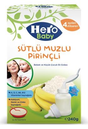 Hero Baby Sütlü Muzlu Pirinçli Kaşık Maması 240 gr
