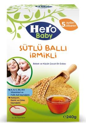 Hero Baby Sütlü Ballı İrmikli Kaşık Maması 240 gr