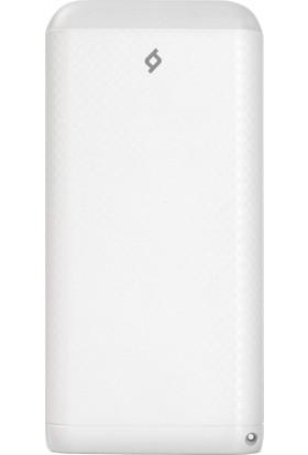 Ttec S20000 20000 mAh Taşınabilir Şarj Cihazı Beyaz - 2BB121B