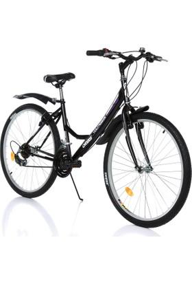 """Orbis Voltage 26"""" 21 Vites Kadın Siyah Dağ Bisikleti"""