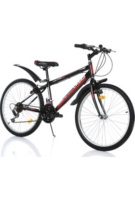 "Orbis Voltage 24"" 21 Vites Erkek Siyah Dağ Bisikleti"