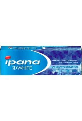 İpana 3 Boyutlu Beyazlık Diş Macunu Çay ve Kahve İçenler İçin 75 ml