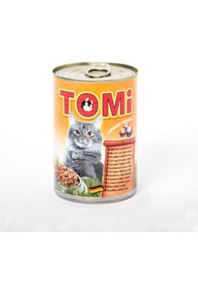 Tomi Kaz ve Ciğerli Kedi Konservesi 400 gr