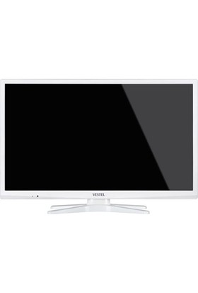 """Vestel 24HB5100B 24"""" 61 Ekran Beyaz Uydu Alıcılı LED TV"""