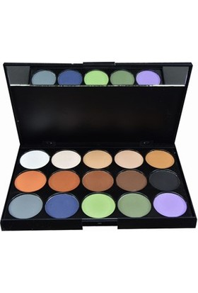 Deina Profesyonel 15li Eye Shadow Far Paleti