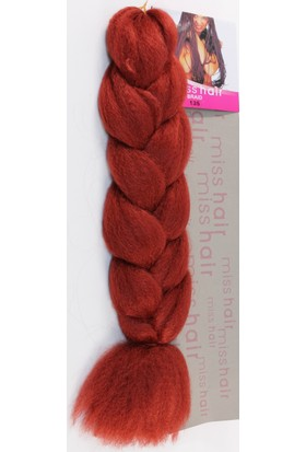 Aytuğ Peruk Jumbo Braıd Mıss Haır,Afrika Saç Örgüsü-135Ateş Kızılı 135
