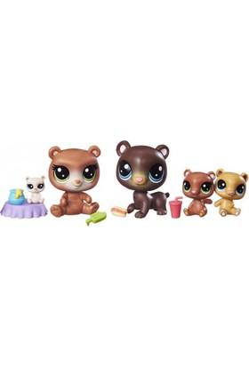 Pet Shop Minişler Cubby Hill Pack Miniş Ailesi Figür Oyun Seti