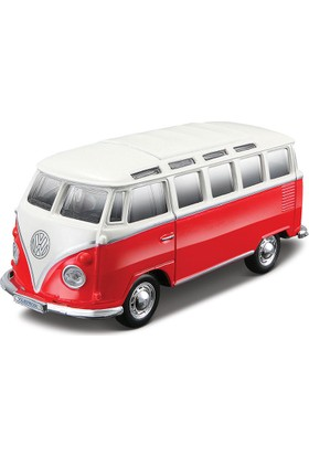 Maisto Volkswagen Van Samba Çek Bırak Oyuncak Araba 12 cm