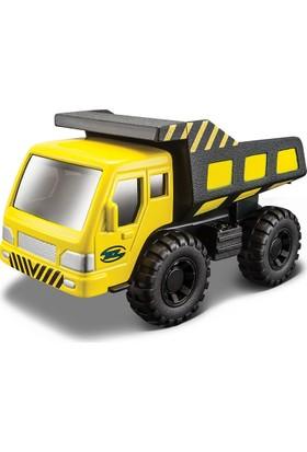 Maisto İnşaat Araçları Sarı Dump Truck İş Makinası Metal Gövdeli 11 cm