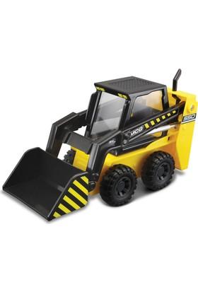 Maisto İnşaat Araçları Sarı Street Skid İş Makinası Metal Gövdeli 11 cm