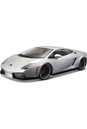 Maisto Lamborghini Gallardo Lp560-4 1:24 Design Model Araba Gümüş