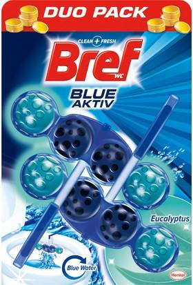 Bref Blue Aktiv Okaliptus Katı Klozet Blok 2'li Özel Paket