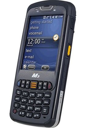 Mobilecomp M3-Black 3.5 , Renkli Tft Wireless , Bluetooth Windows Ce 6.0 Kablosuz El Terminali Laser