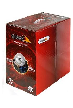 Speed Sp-Cat6 Ftp202 Cat6 Ftp ( 305 Metre ) %100 Bakır 23 Awg Network Kablosu Lsoh