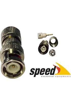 Speed Sp-Bn025 Bnc Güvenlik Kamera Konnektörü (25Li Paket