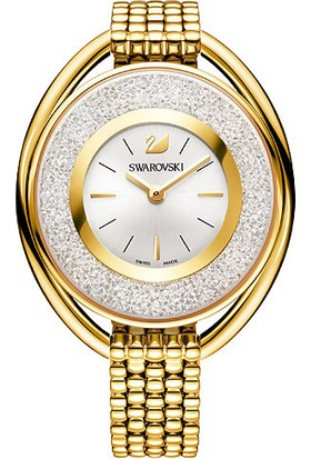 Swarovski Crystalline Oval Metal Bracelet Gold 5200339 Kadın Kol Saati