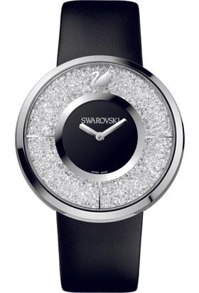 Swarovski Crystalline Watch Leather Strap Black 1135988 Kadın Kol Saati