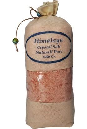 Himalaya İthal Himalaya Tuzu Öğütülmüş Pembe - 1 Kg. Orjinal Bez Torba