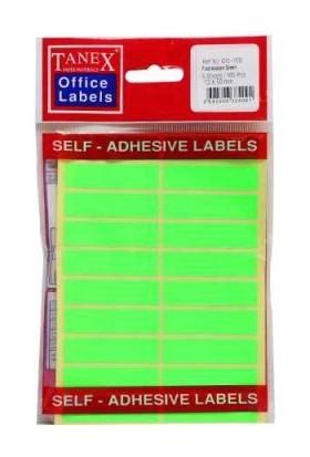 Ofc-122 Flo Yeşil Ofis Etiketi 50 Ad-10-Lu Poşet