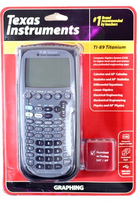 Texas Tı-89 Instruments Hesap Makinası
