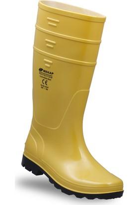 Mekap 501 Pvc Sarı Uzun Çizme