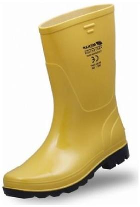 Mekap 502 Pvc Sarı Uzun Çizme