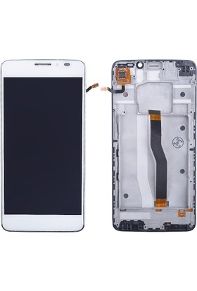Cekokenomik General Mobile Discovery 2 Lcd+Dokunmatik+Ön Panel Komple Ekran