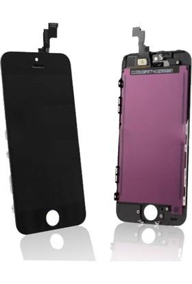 Cekokenomik Apple Iphone 5S Lcd+Dokunmatik +Ön Panel Komple Ekran