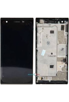 Cekokenomik Türkcell T50 Lcd+Dokunmatik+Ön Panel Komple Ekran