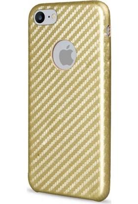Kılıfkutusu Apple iPhone 7 Karbon Fiber Silikon Kılıf