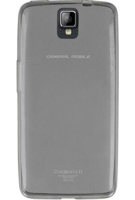 Kılıfkutusu General Mobile Discovery 2 Ultra İnce Şeffaf Silikon Kılıf