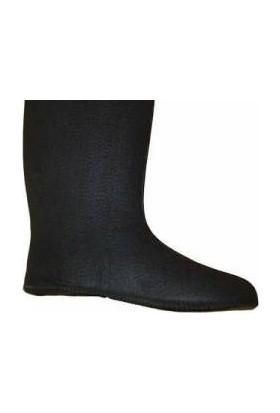 Eva Boot -30 C Dayanıklı Siyah Çizme Çorabı