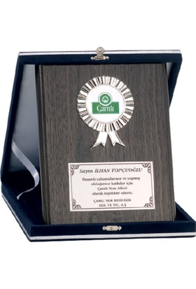 B-Sport Ahşap Plaket