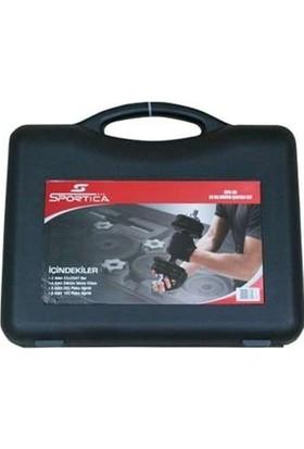 Sportica Spk20 Döküm Çantalı Set 20Kg