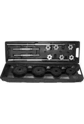 Sportica Spk50 Çantalı Set Döküm 50Kg
