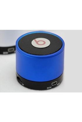 TveT Mini Bluetooth Hoparlör - Mavi