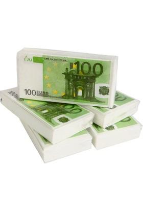 TveT 100 Euro Tasarım Peçete