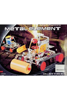 TveT 281 Parça Metal Lego İş Makinesi 2 Adet - V47