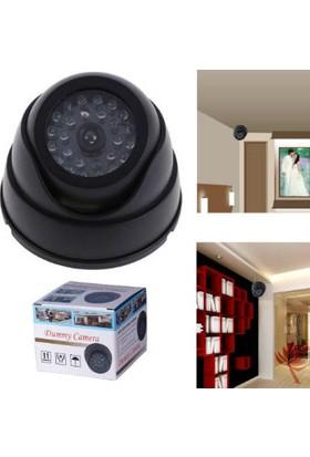 TveT 360 Derece Oynar Başlıklı Ledli Sahte Dome Kamera