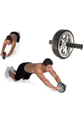 TveT Ab Wheel Vücut Geliştirme ve Egzersiz Aleti