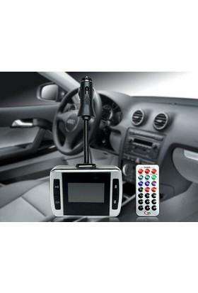TveT Araç İçi Lcd Ekranlı Kumandalı Fm/Mp3/Mp4 Player
