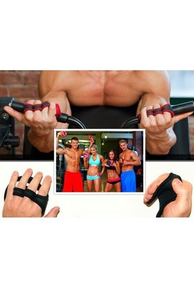 TveT Gripad Kaydırmaz Terletmez Sporcu Fitness Eldiveni