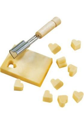 TveT Kalp Şekilli Peynir Kesici