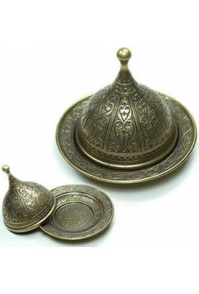 TveT Osmanlı Motifli Lokumluk Büyük - Sarı