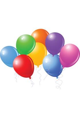 TveT Renkli Balon – 100 Adet