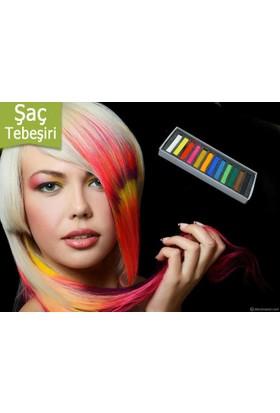 TveT Saç Tebeşiri Hair Chalk (12 Parça)