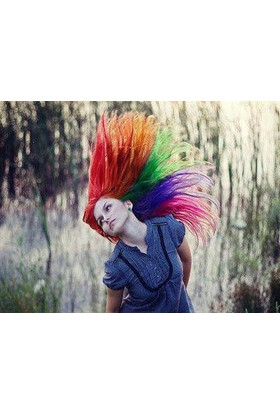 TveT Saç Tebeşiri Hair Chalk (24 Parça)